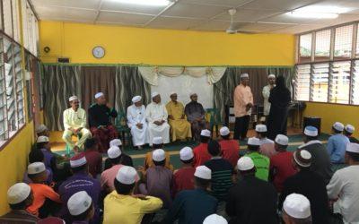 Zakat Distribution at MU(A) Al Hidayah Islamiah, Chap Bekelam, Bachok