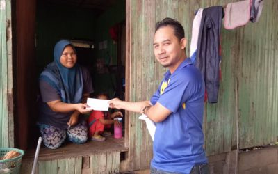Zakat Distribution – Aid for Child's School Expenses