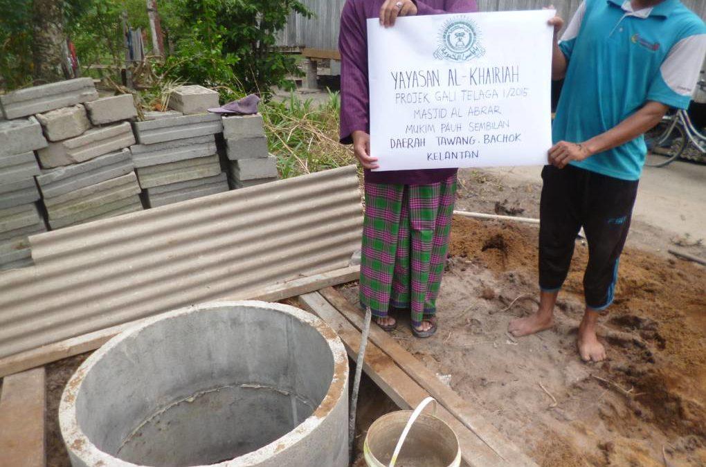 Well-Digging Aid for Masjid al-Abrar 2015