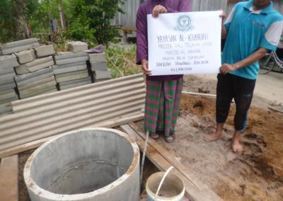 bantuan buat telaga Masjid al-Abrar (1)