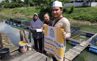 Zakat Distribution – Capital for Buying Fish and Repair