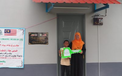 Handover Five Houses for Orphan & Asnaf