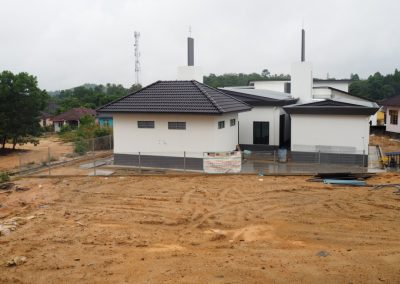 Fatimah Mosque Construction 3