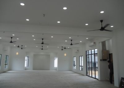 Fatimah Mosque Construction 8