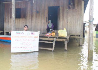 update jan 2021 - bantuan banjir Lubuk Jong 10