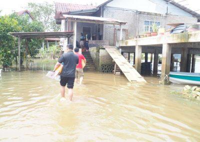 update jan 2021 - bantuan banjir Lubuk Jong 11