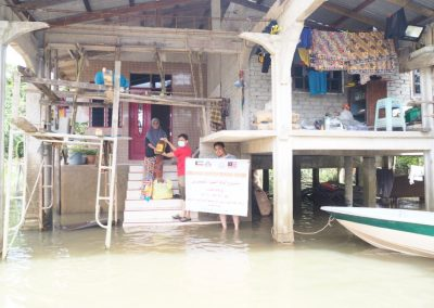 update jan 2021 - bantuan banjir Lubuk Jong 12