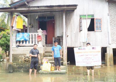 update jan 2021 - bantuan banjir Lubuk Jong 13