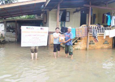 update jan 2021 - bantuan banjir Lubuk Jong 8